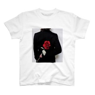 ᑦᑋ੨иPONYのチャンポニ 薔薇 T-shirts