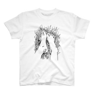 しばふにはだし T-shirts