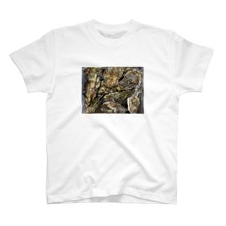 牡蠣まみれ T-shirts