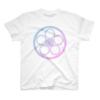 丸に中陰梅鉢2 T-shirts