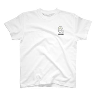 シロフクロウの花火 T-shirts