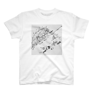 BIG WAVE T-shirts