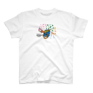 Tシャツ じゃぱんわぷー 淡 T-shirts