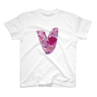 ハート T-shirts