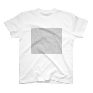 ビーカーくんたちグレー×白 T-shirts
