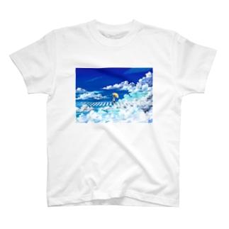 [ 青は進め ] T-shirts