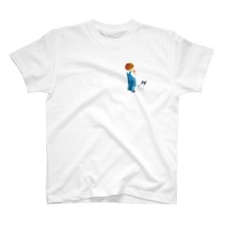 あそぼっ!(えがしらみちこ) T-shirts