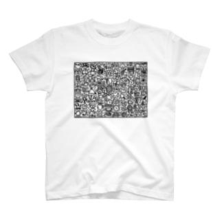 ぎゃおっぴ しりとりver. T-shirts