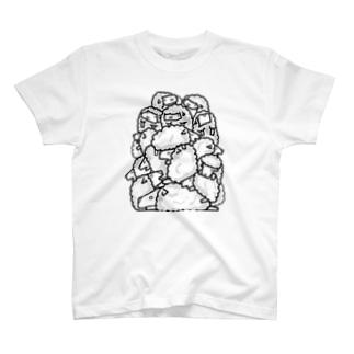 もこ T-shirts