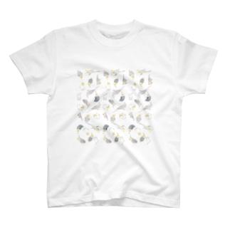 たっぷりオカメインコちゃん【まめるりはことり】 T-shirts