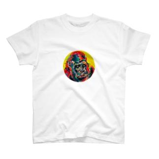 ゴリラポップ T-shirts