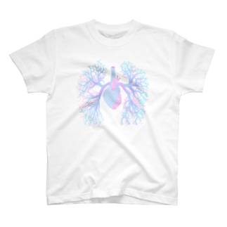 パステル気管支樹 T-shirts