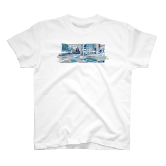strange city blue T-Shirt