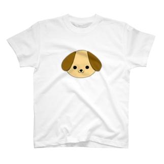 大きな耳のワンちゃん T-shirts