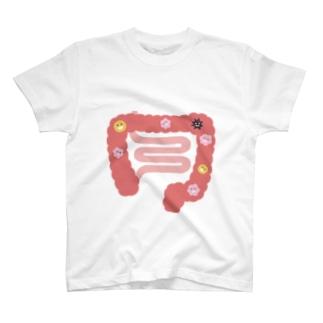 人体のなぞ。ぴかぴかピンクの大腸。 T-Shirt