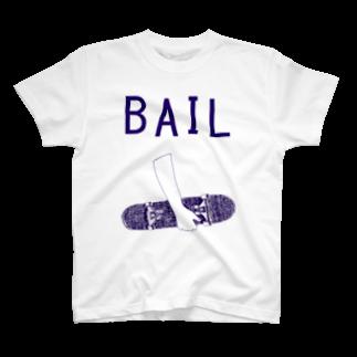 NIKORASU GOのBAIL T-shirts