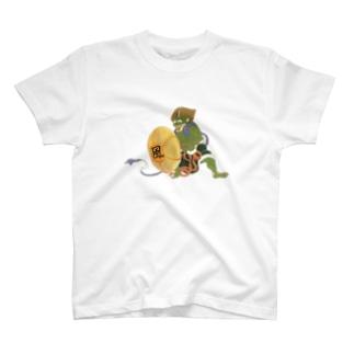 風よ吹け T-shirts