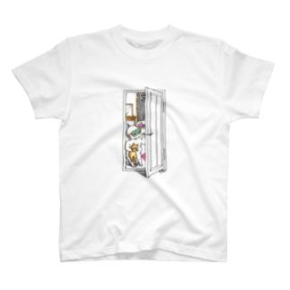 コオ二とネコちゃん T-shirts