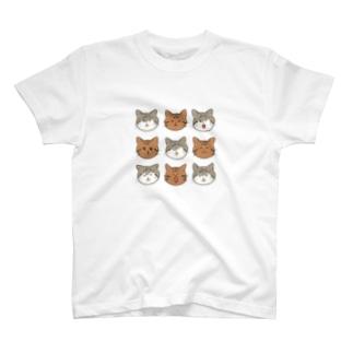 溢れるほどのたぬむっち T-shirts