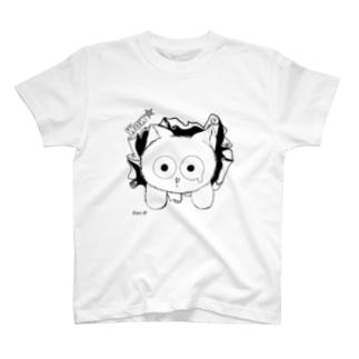 突き抜けちゃった。 T-shirts