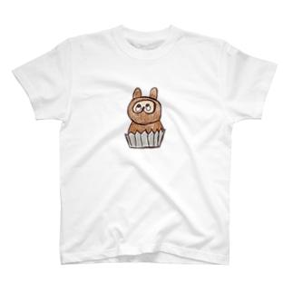 たぬきのケーキ T-shirts