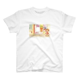 ユマちゃんとマユちゃん T-shirts