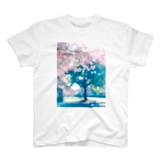 さくらサクラsakura T-shirts