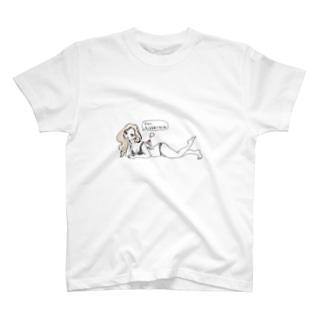 痩せ我慢のチカコ T-shirts