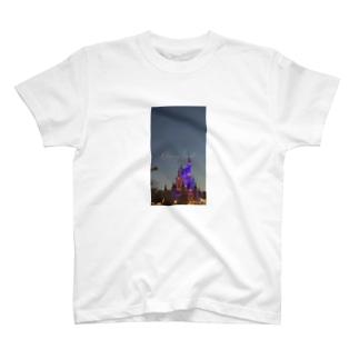 個人撮影シンデレラ城 T-shirts