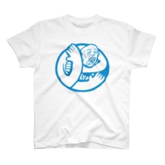 エゴマーク 地球に裸じめtシャツ T-shirts