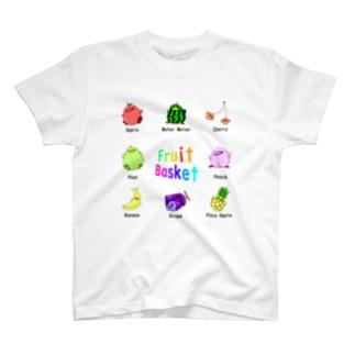 フルーツひよこっと T-shirts