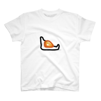 隙間に落ちた目玉焼き。 T-shirts