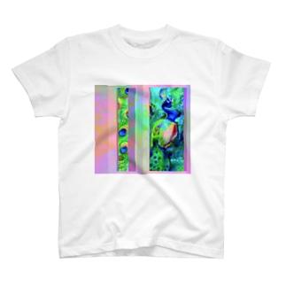 孔雀・ロ T-shirts