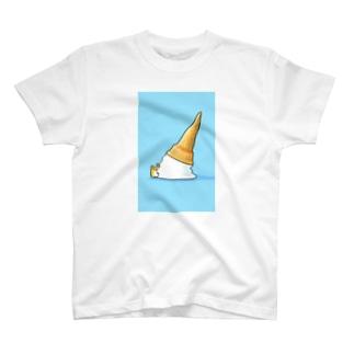 ソフトクリームとコギャ T-shirts