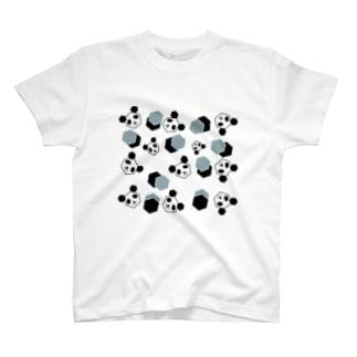 かくかくぱんだ T-shirts