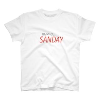 サンデイ  T-shirts