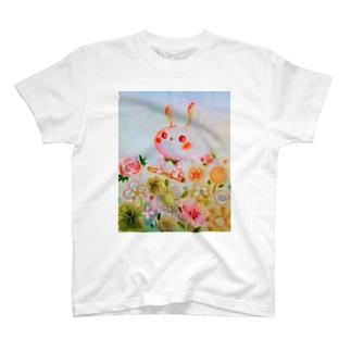 ゆめかわいいうさぎちゃん T-shirts