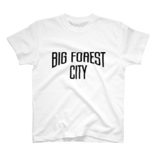 ゆるTショップのBIG FOREST CITY Tシャツ T-Shirt