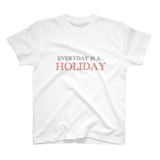 ホリデイ T-shirts