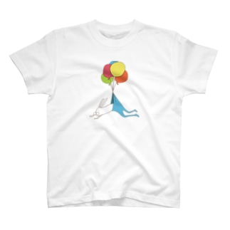 うさぎタイツとふうせん T-shirts