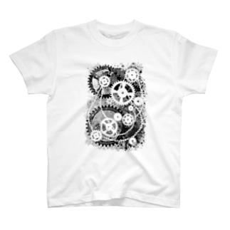 機械式-04 Tシャツ