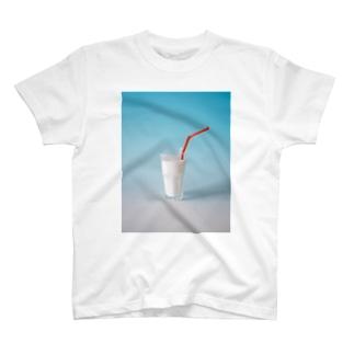 ミルク T-shirts