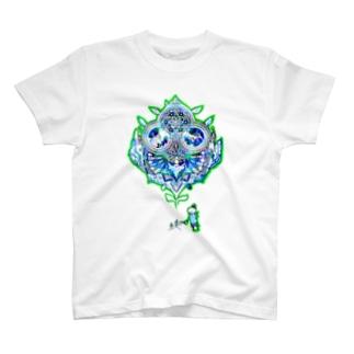 宇宙育てるマンダラ T-shirts