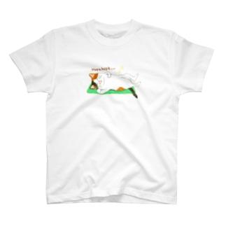 三毛猫Tシャツ【Hoya hoya...】 T-shirts