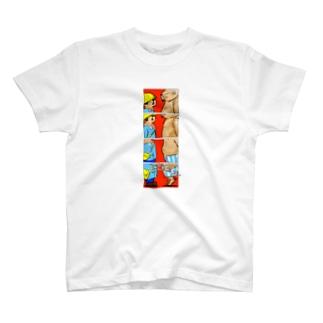 オノマトペイント No.001「ゴゴゴゴゴ」 Tシャツ