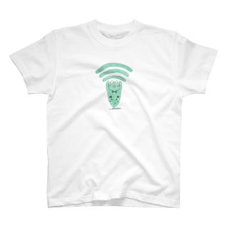 Wi-FiゲコミントTシャツ T-shirts