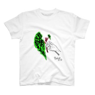 葉っぱ No.2 T-shirts