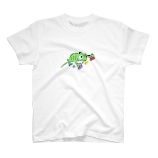 ボルダリングカメレオン T-Shirt