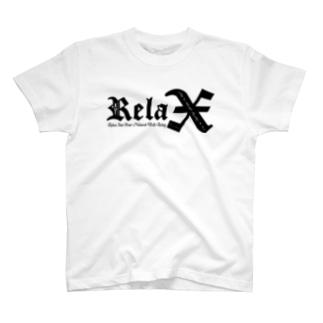 Relax(BLACK) T-shirts