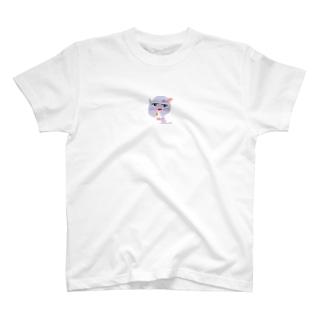 キスネコ T-shirts